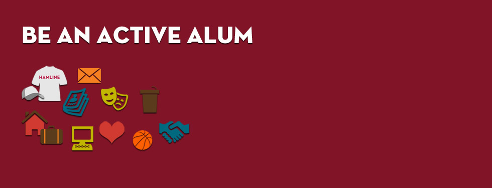 Be an Active Alum
