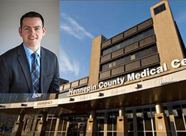 Dr. Scott White '09 is HCMC Chief Resident